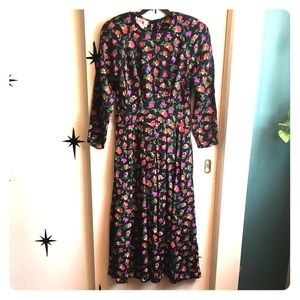 80's Vintage Maggy London Dress